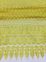 Item No SSG16 Most Popular African Cord Lace Cloth With Rhinestones For Wedding Dress Free Shipping