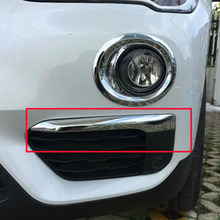 цена на Free Shipping High Quality ABS Chrome Front Fog lamps cover Trim Fog lamp shade Trim For BMW X1