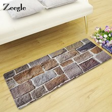 Zeegle Stone Floor Mat Non-slip Door Mat Carpet For Living Room Children Bedroom Bedside Rugs Foot Mat Tea Table Floor Rug(China)