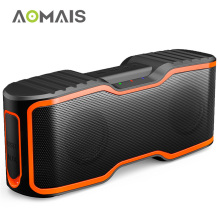 AOMAIS Sport II Portable Bluetooth Speaker 20W Subwoofer Column Stereo Soundbar Wireless Loudspeaker Waterproof Outdoor