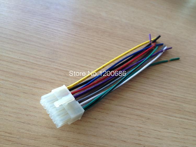 popular wiring harness universal buy cheap wiring harness universal car audio wiring harness universal machine cd 5557 tail line 12p car plug wire audio