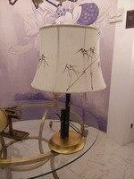 Лидер продаж; Европейская стиль меди лампы спальня ночники свадьба комнаты, лампа исследование Джейн Европейский Гостиная Декоративные тв