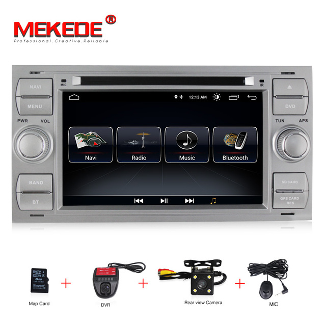 Free shipping! Android 8.0 Car dvd multimedia Player GPS Navi For C-Max Connect Fiesta Fusion Galaxy Kuga Mondeo S-Max Focus RDS