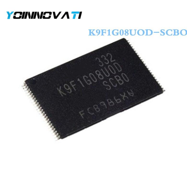 Free shipping 50pcs lot K9F1G08UOD SCBO K9F1G08UOD K9F1G08 TSOP48 Best quality