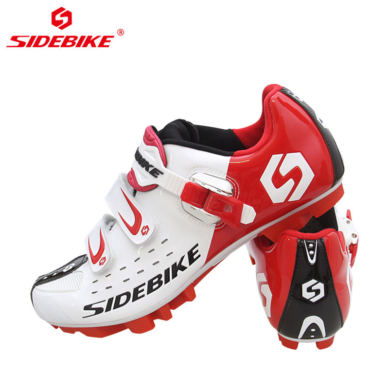 Image 3 - SIDEBIKE Pro Mens Mountain Bike Shoes MTB Cycling Shoes Self Locking Riding Bicycle Shoes with Mesh Holes and hook & loop-in Cycling Shoes from Sports & Entertainment on AliExpress
