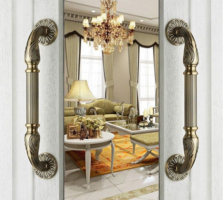 Buy european zinc alloy antique bronze for Antique door decoration