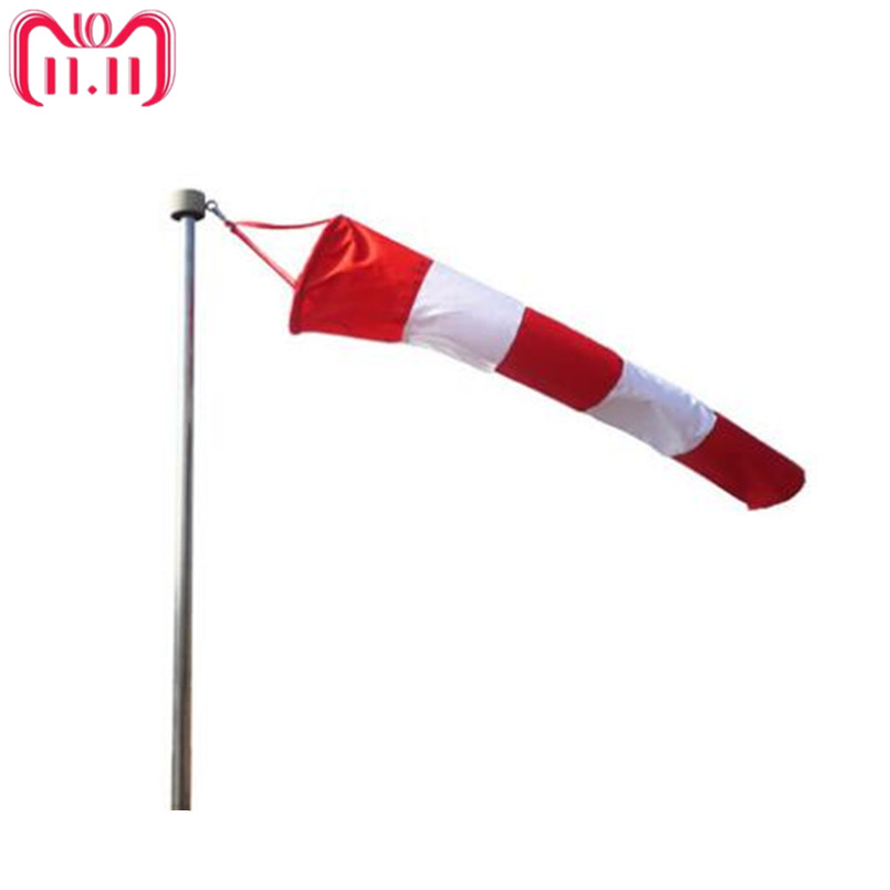 All Weather Nylon Wind Sock Weather Vane Windsock Outdoor Toy Kite,Wind Monitoring Needs Wind Indicator Many Size for Choice enhanced windsock wind vane double frame skeleton