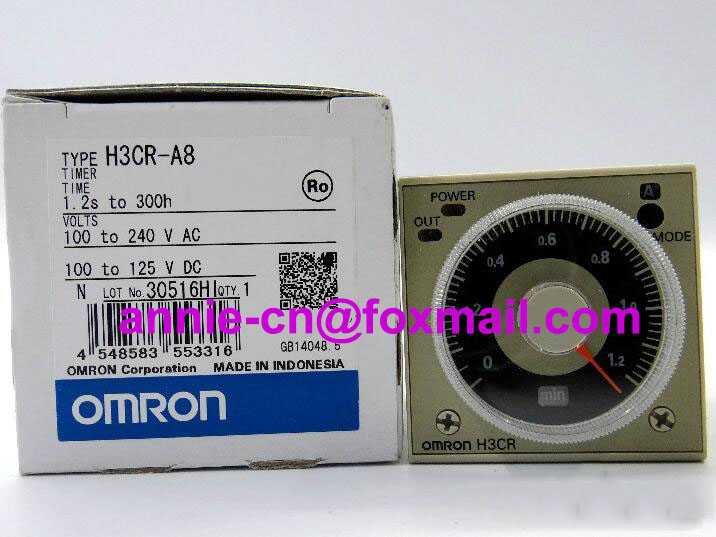 H3CR-A8 New and original  OMRON  TIME RELAY  100-240VAC  24-48VAC/12-48VDC  цены