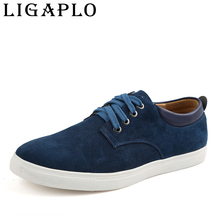 Men's shoes New 2017 autumn leather shoes size(37-48)breathable big size fashion men casual shoes men flats free shipping