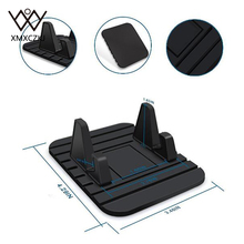 Soporte Movil Car Universal Soft Silicone Anti-slip Car Dashboard Desktop Stand Mobile Phone Holder Gps For Iphone Ipaid Tablet