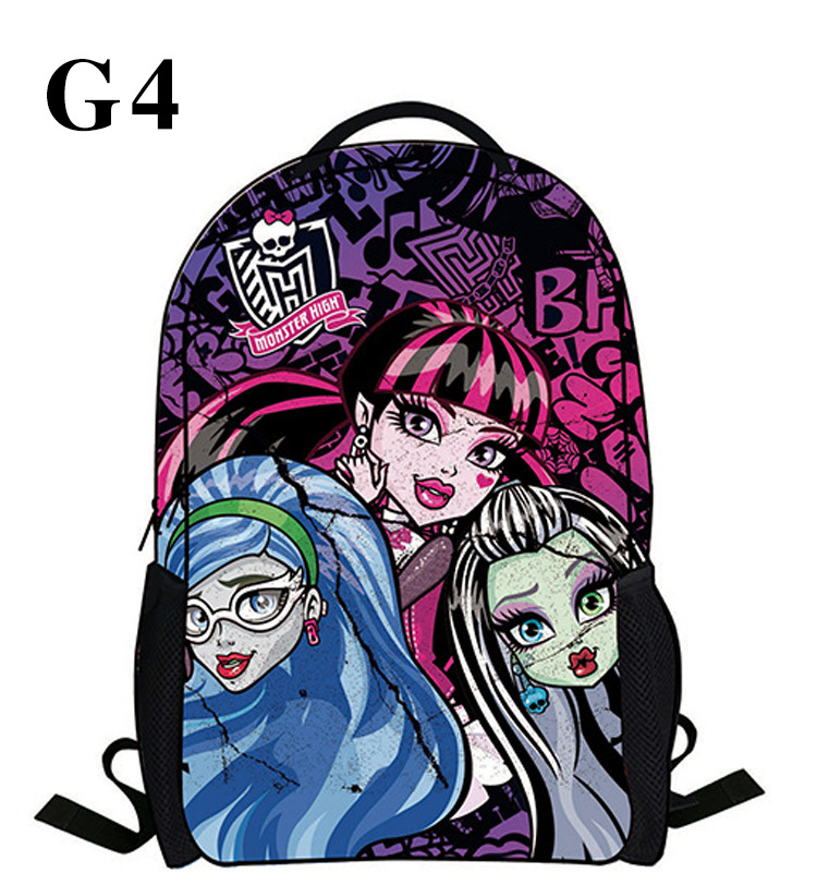 Popular Monster High Backpack-Buy Cheap Monster High Backpack lots ...