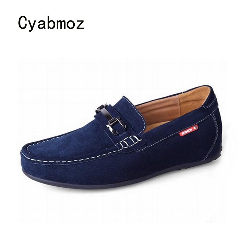 Cyabmoz Men Fashion Hidden Height Increasing Shoes 6CM Moccasins Loafers Cow Suede Gommino Driving Invisible Elevator Man ShoesCyabmoz Men Fashion Hidden Height Increasing Shoes 6CM Moccasins Loafers Cow Suede Gommino Driving Invisible Elevator Man Shoes