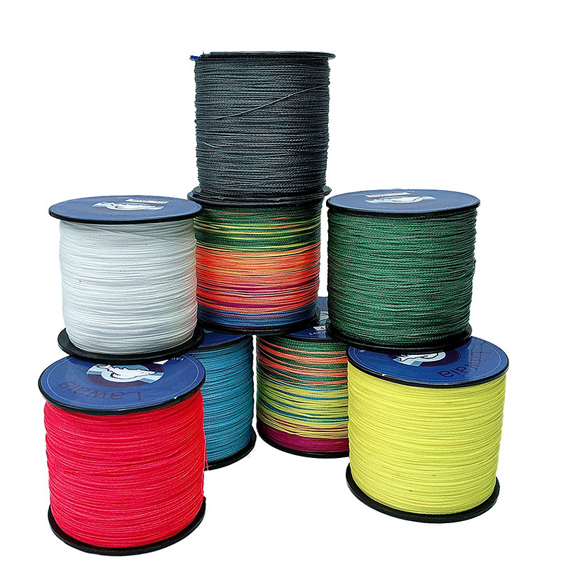 New Fishing Line 300M Long Super Strong 4 Strands Braided Multifilament Fishing Line From Dutch Craft Fishing Gears Crap Tool-in Fishing Lines from Sports & Entertainment