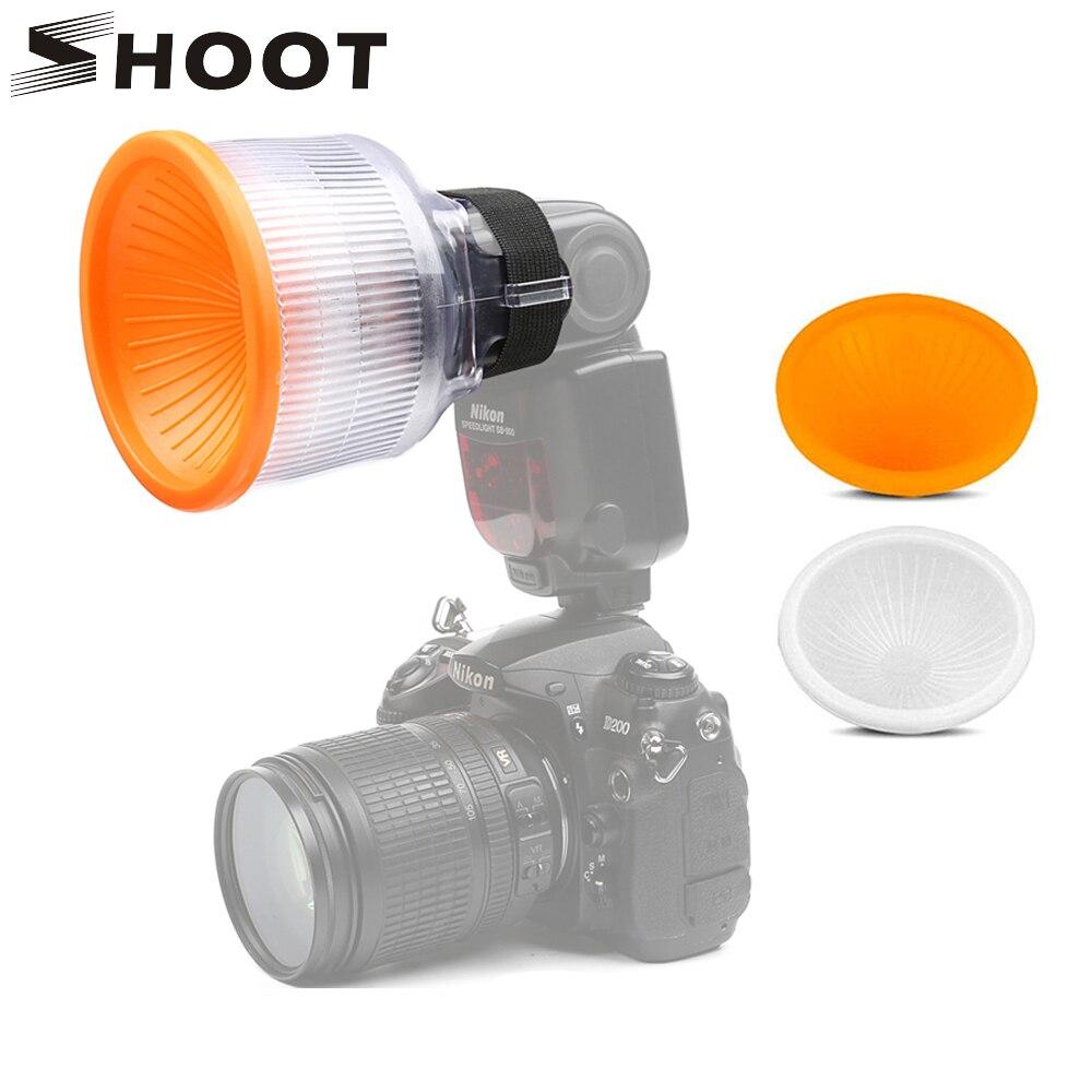 SCHIEßEN Lambancy Dome-Diffusor für Canon 420EX 430EX 550EX 580EX 600EX Nikon SB600 SB700 SB800 SB900 SB910 Sony HVL-F43AM