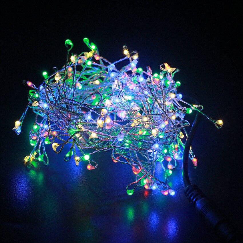 USB DEL Micro Fil de cuivre chaîne fée lumières Noël partie décoration Cadeaux de Noël