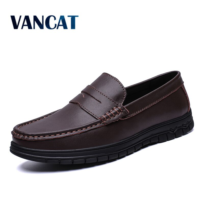 Brand Fashion Summer Men's Shoes Soft Moccasins Men Loafers High Quality Genuine Leather Casual Shoes Men Flats Driving Shoes