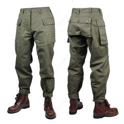 WW2 oorlog AMERIKAANSE p44 broek paratrooper uniform oorlog reenactments (geen schoenen)