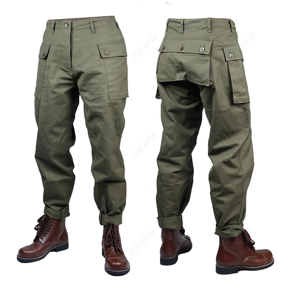 WW2 War U.S. P44 Pants Paratrooper Uniform War Reenactments(no Shoes)