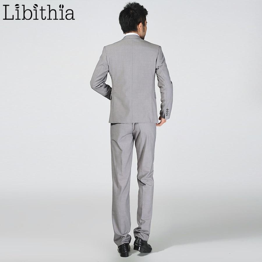 (Jakna + Hlače) Novi Muška Odijela Slim Tuxedos Marka Formalna - Muška odjeća - Foto 4
