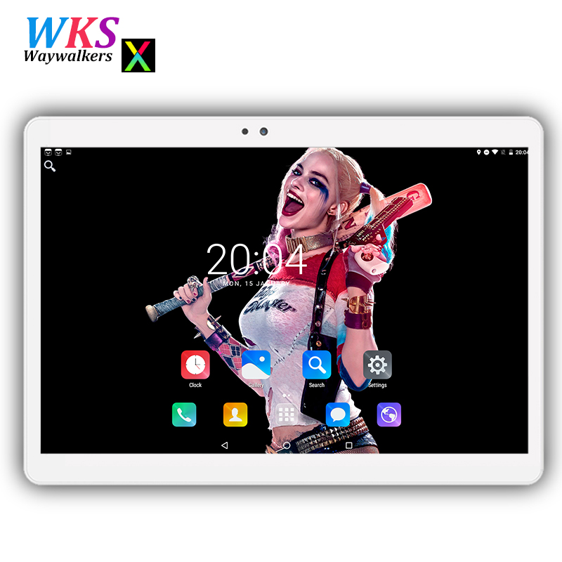 Free shipping 10 inch tablet PC Android 7.0 Phone call octa core RAM 4GB ROM 32/64GB 1280*1200 IPS Dual SIM Children's Tablet PC free shipping 11 6 inch touch screen tablet pc 2gb 128gb phone call with windows 8 tablet pc dual core dual camera tablet