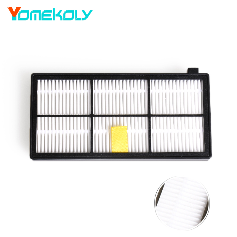 1PC Hepa Filter For iRobot Roomba 800 900 Series 870 880 980 Filters Vacuum Robots Replacements Cleaner Parts Accessory 10 pack hepa filter accessory for irobot roomba 800 900 series 870 880 980 vacuum robots replacements parts 1 bumper strip