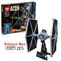 NUEVO 1685 unids Lepin 05036 Star Wars Serie Ladrillos de Construcción Bloques Educativos Juguetes Compatible con legeod Tie Fighter 75095