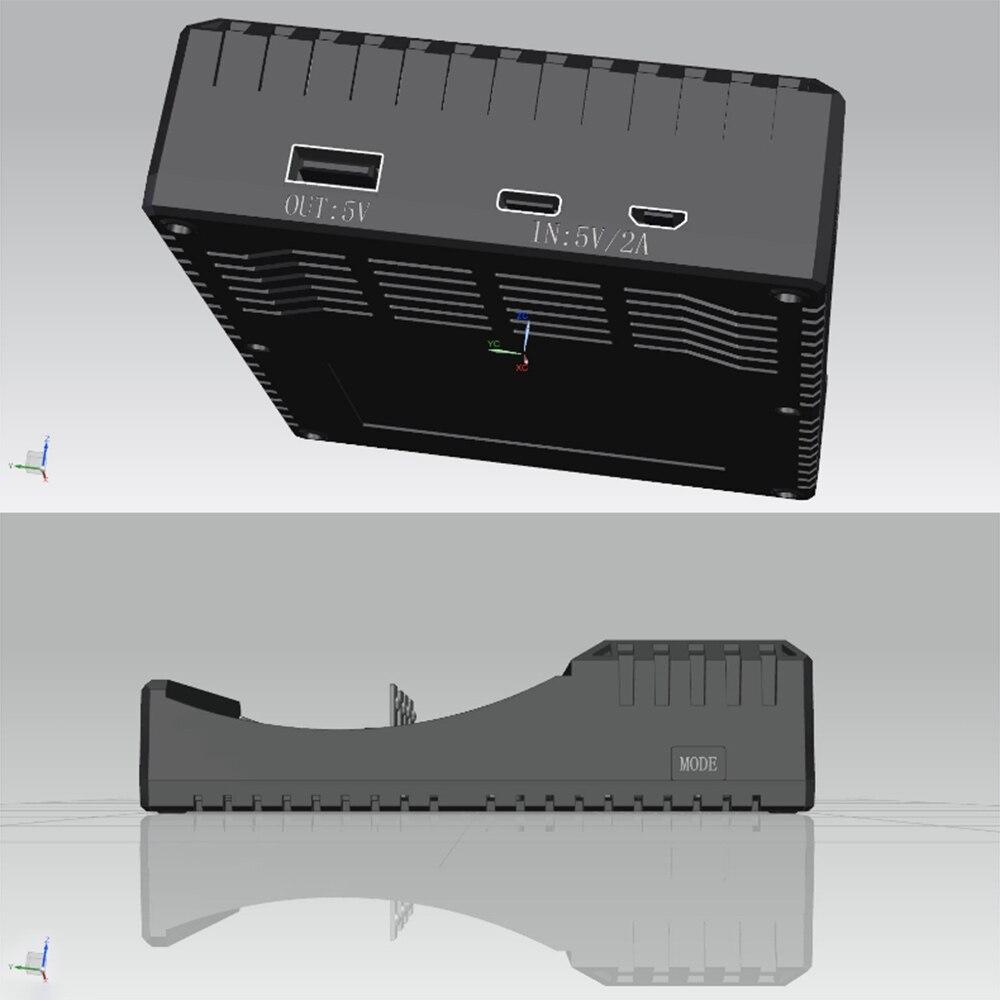 Image 5 - 4 slot battery charger Li ion 3.7V Life 3.2V Ni MH Ni CD Smart fast  LCD 6F22 9V AA AAA 16340 14500 18650 Battery Charger-in Battery Accessories & Charger Accessories from Consumer Electronics