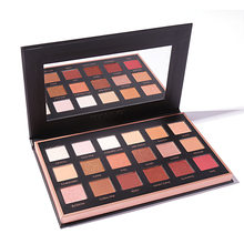 FOCALLURE 18 COLORS Eyes Shadow Palette with Mirror Earth Matte eyes