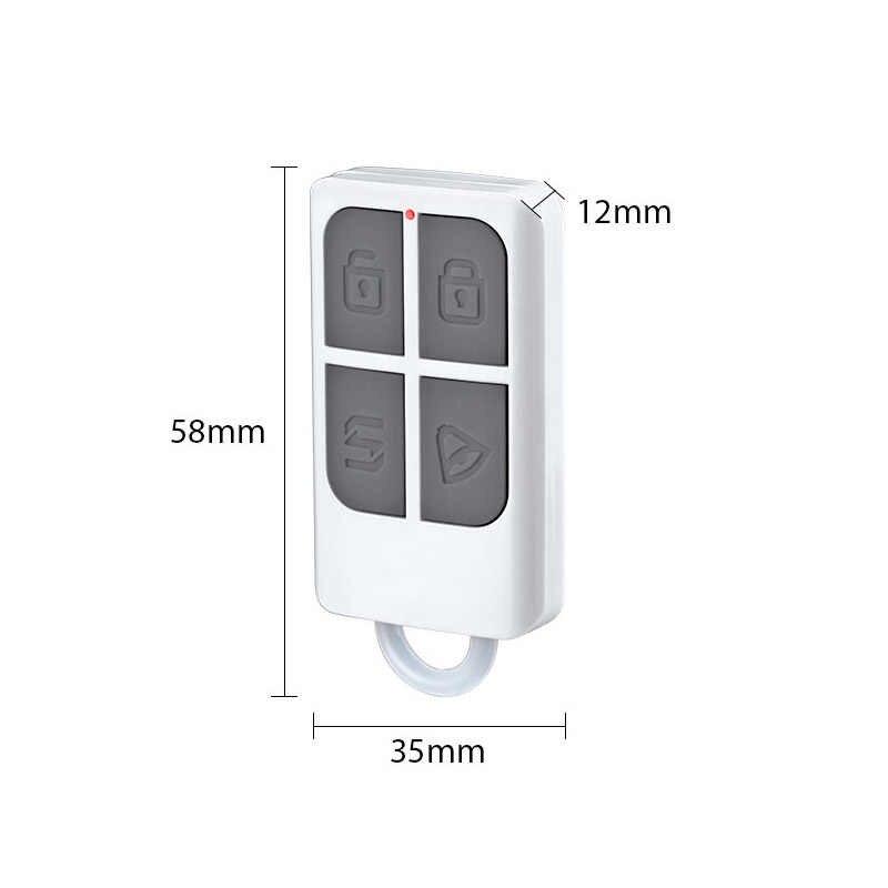 ワイヤレスリモートコントロールアーム/武装解除キーホルダー検出器 Kerui Gsm Pstn ホームセキュリティ盗難警報システム