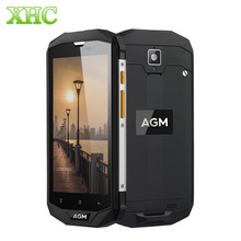 AGM A8 3GB RAM 32GB ROM Smartphones 5.0inch Quad Core 4050mAh IP68 Waterproof Android 7.0 4G LTE NFC OTG GPS Dual SIM Cellphones