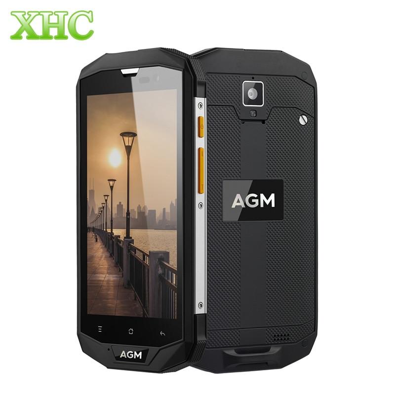 bilder für AGM A8 IP68 Wasserdichte Handy 5,0 zoll MSM8916 Quad Core 4050 mAh Android 7.0 Smartphone 3/4 GB RAM 32/64 GB ROM 4G LTE NFC