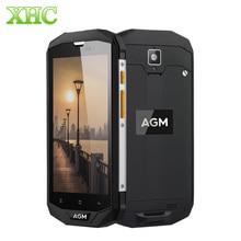 AGM A8 IP68 водонепроницаемый мобильный телефон 5.0 дюймов MSM8916 Quad Core 4050 мАч Android 7.0 смартфон 3/4 ГБ оперативной памяти 32/64 ГБ ROM 4 г LTE NFC