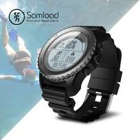 Samload S968 Smart часы плавание sport Band Фитнес Tracke часы работает шагомер gps компас IP68 для iPhonne SE 7 8 xiaomi