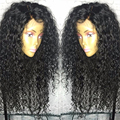 Alice Hair 130%/150%/180% Densidad Peluca Del Frente Del Cordón U Parte Pelucas Rizadas Pelo brasileño Peluca Llena Del Cordón Pelucas de Pelo Humano Para Las Mujeres Negras