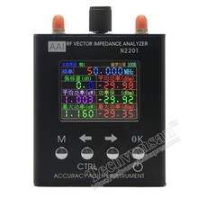 Высокая точность 137,5 мГц-2,7 ГГц N2201SS N2201 английский verison Антенный Анализатор метр тестер УФ вектор РФ сопротивление АНТ КСВ