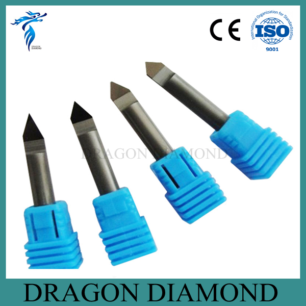 Free Shipping 4pcs 30/45/60/90 Degree 6MM Marble Granite CNC Diamond Engraving Bit Router Bit tsu69kr 003j