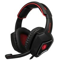 SADES Spirit Wolf USB 7 1 Surround Sound Gaming Headset Wired Headphones With Mic Led Lights
