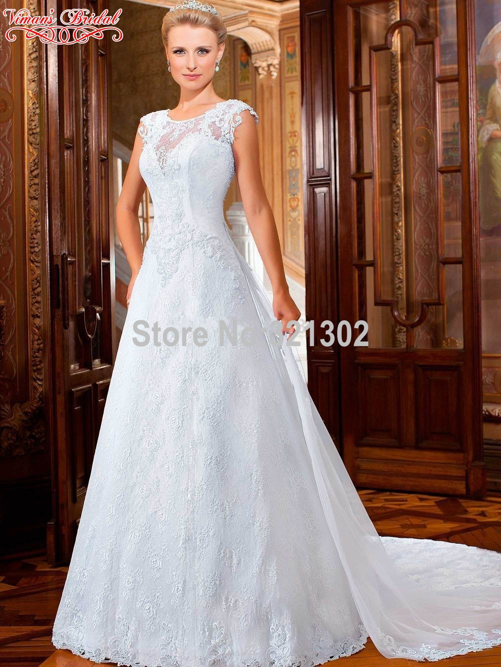 wedding gowns white 2015 button sleeveless o veck brush train floor length wedding dresses newest expensive beautiful ac96