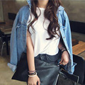 2017 New Spring Fashion Women Denim Jacket  Woman  Casual Loose Coat Street Style Bomber Jacket Chaquetas Mujer