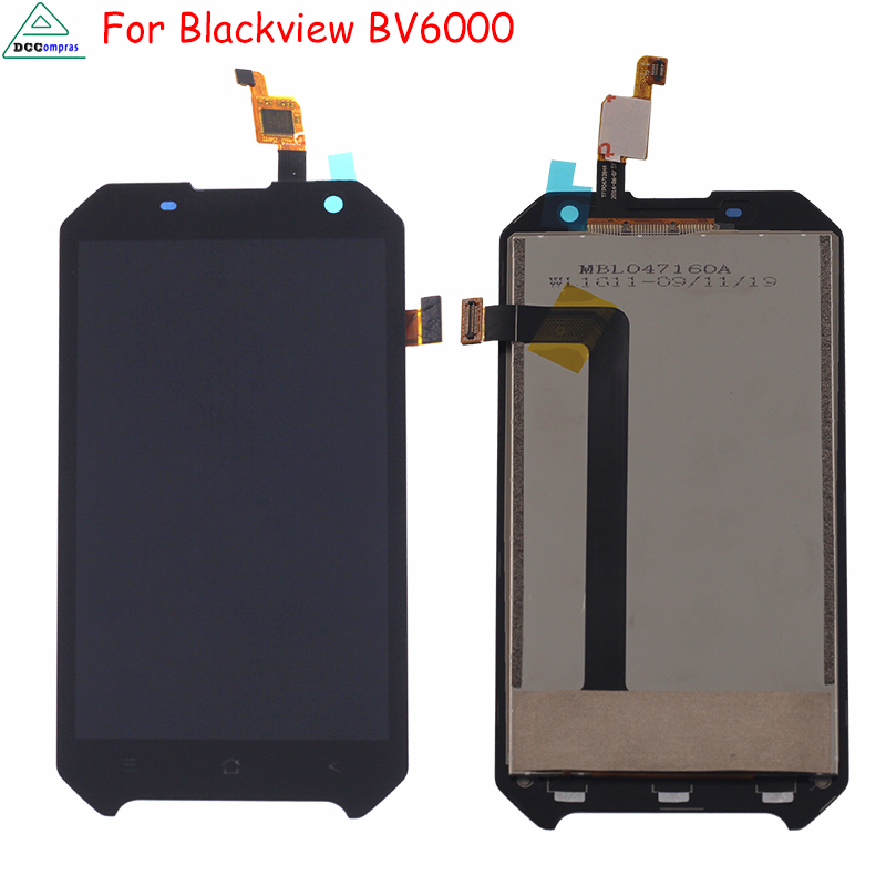 Original Phone LCD For <font><b>Blackview</b></font> <font><b>BV6000</b></font> Screen LCD Display Assembly Digitizer Phone <font><b>Parts</b></font> LCD Screen For <font><b>Blackview</b></font> <font><b>BV6000</b></font> Tools image