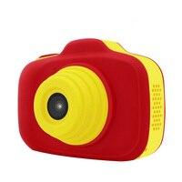 아이들을위한 어린이 축제 장난감 hd 렌즈 선물 휴대용 캠코더 미니 귀여운 만화 소형 비디오 디지털 카메라 생일