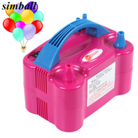 2017 New Double Hole 73005 HT 501 High Voltage AC Inflatable Electric Balloon Pump Air Inflator Machine 110V 220V Party Supplies