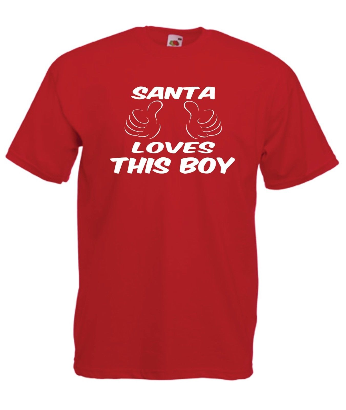 SANTA BOY Christmas Present NEW Xmas Birthday Gift Ideas Boys Girls Top T SHIRT Shirt Hipster Harajuku Brand Clothing T-Shirt