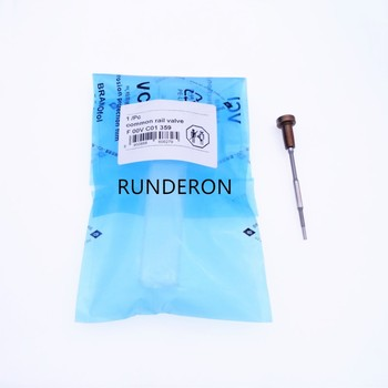 RUNDERON F00VC01359 Fuel Injector Common Rail Control Valve for 0445110454 0445110380 0445110392 0445110397 0445110407
