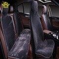 Capas de peles no banco dos carros avtochehly todos os assentos conjunto de 5 pcs cor cinza da pele do falso quente aquecida 2016 raspradazh i022-5