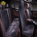 fur capes on the seat of the cars avtochehly all seats set 5 pcs color  gray faux fur warm heated  2016 raspradazh i022-5