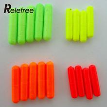 100Pcs Fishing Float Stops For Bobber Line Grips Floater Carp Tackle Gear Tool Color Random