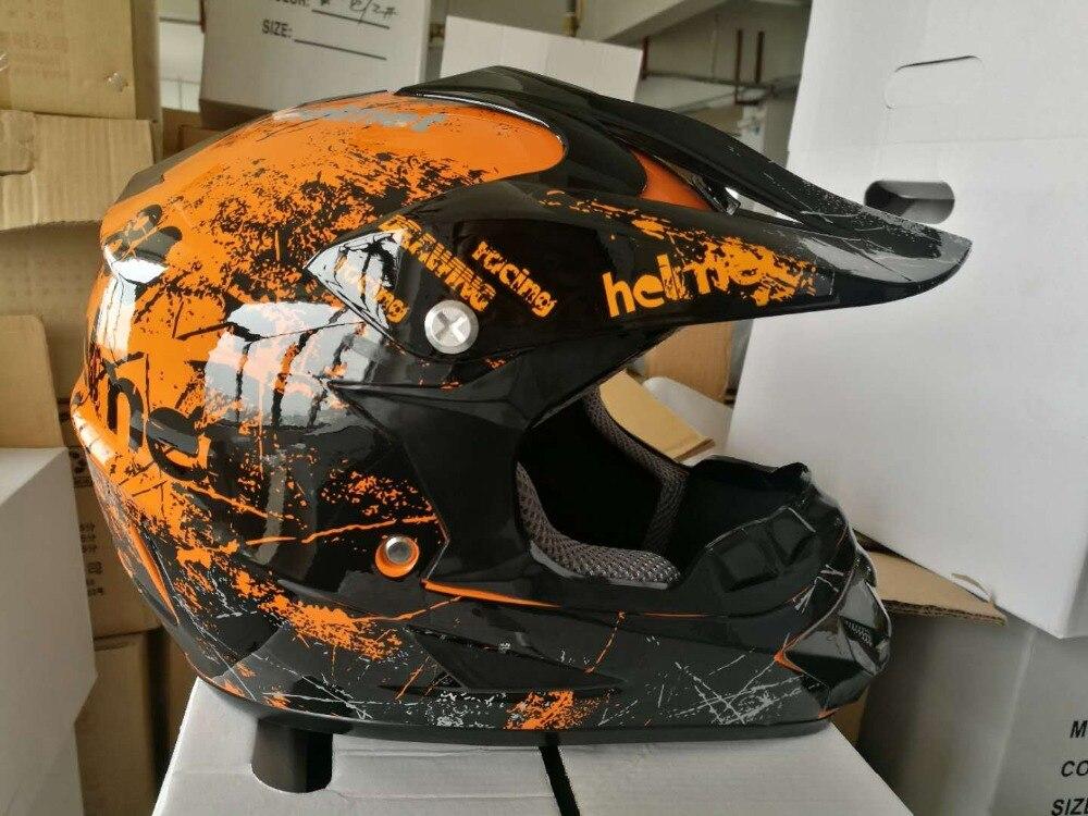 new skeleton ATV Dirt bike downhill cross capacete da motocicleta cascos motocross off road helmets black