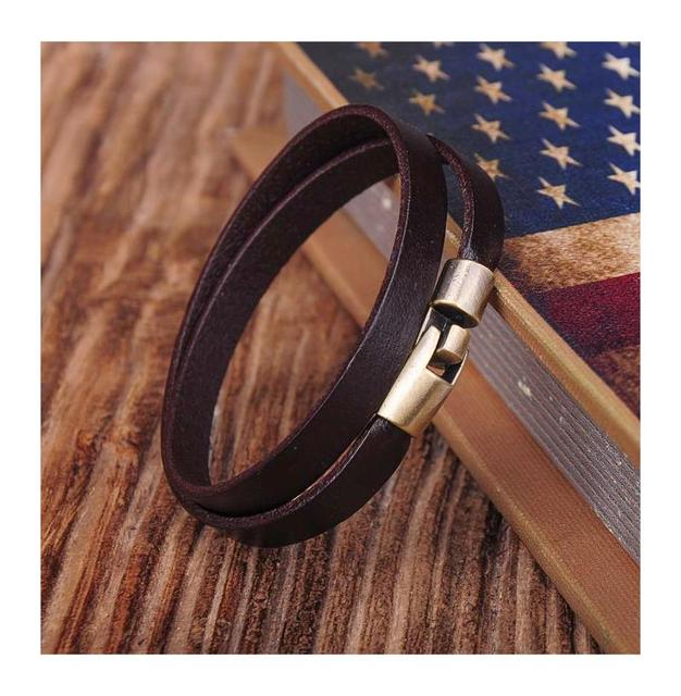 G334 Brown Alloy Clasp Cool...