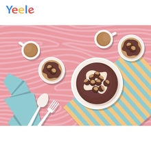 Yeele Wall Decor Photocall Afteroon Tea Sweetie Ins Photography Backdrops Personalized Photographic Backgrounds For Photo Studio